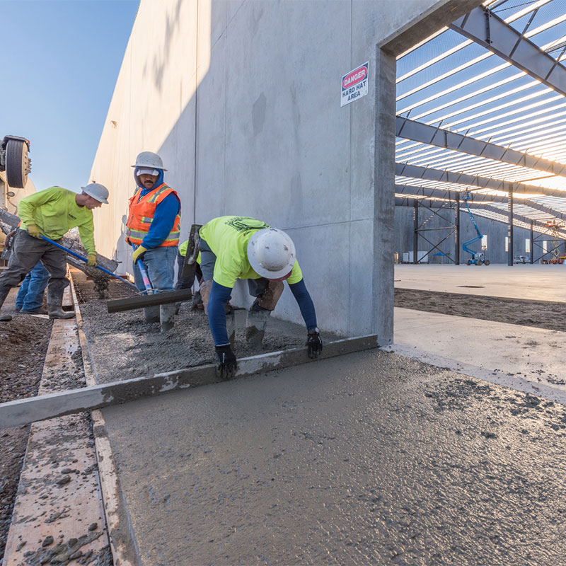 BCM specializes in concrete construction services